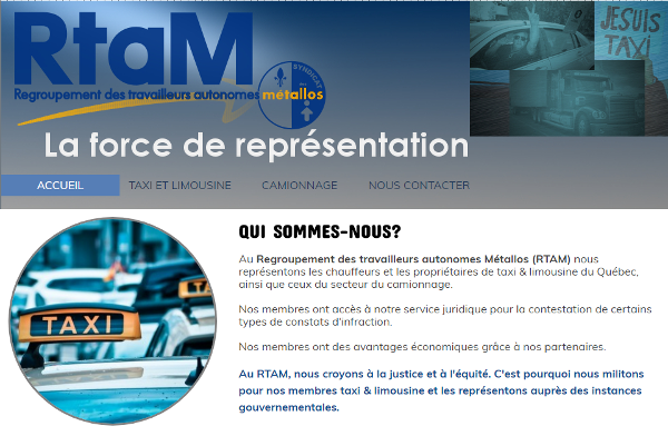 Logo du RTAM-Métallos