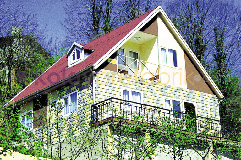 TWO STOREY PREFABRICATED HOUSE, 2+1