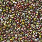 Bead Stampede Etched Magic Apple - Czech 11/0 Seed Beads