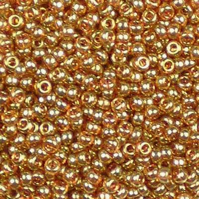 Bead Stampede 11/0 Miyuki Beads Topaz Gold Lustre # 311