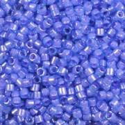 DB-2388 Fancy Lined Aqua Pink - Miyuki 11/0 Delica Beads