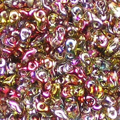 Beadstampede Czech Super8 Magic Apple Beads