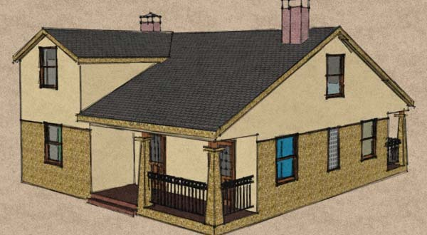 Illustration of home