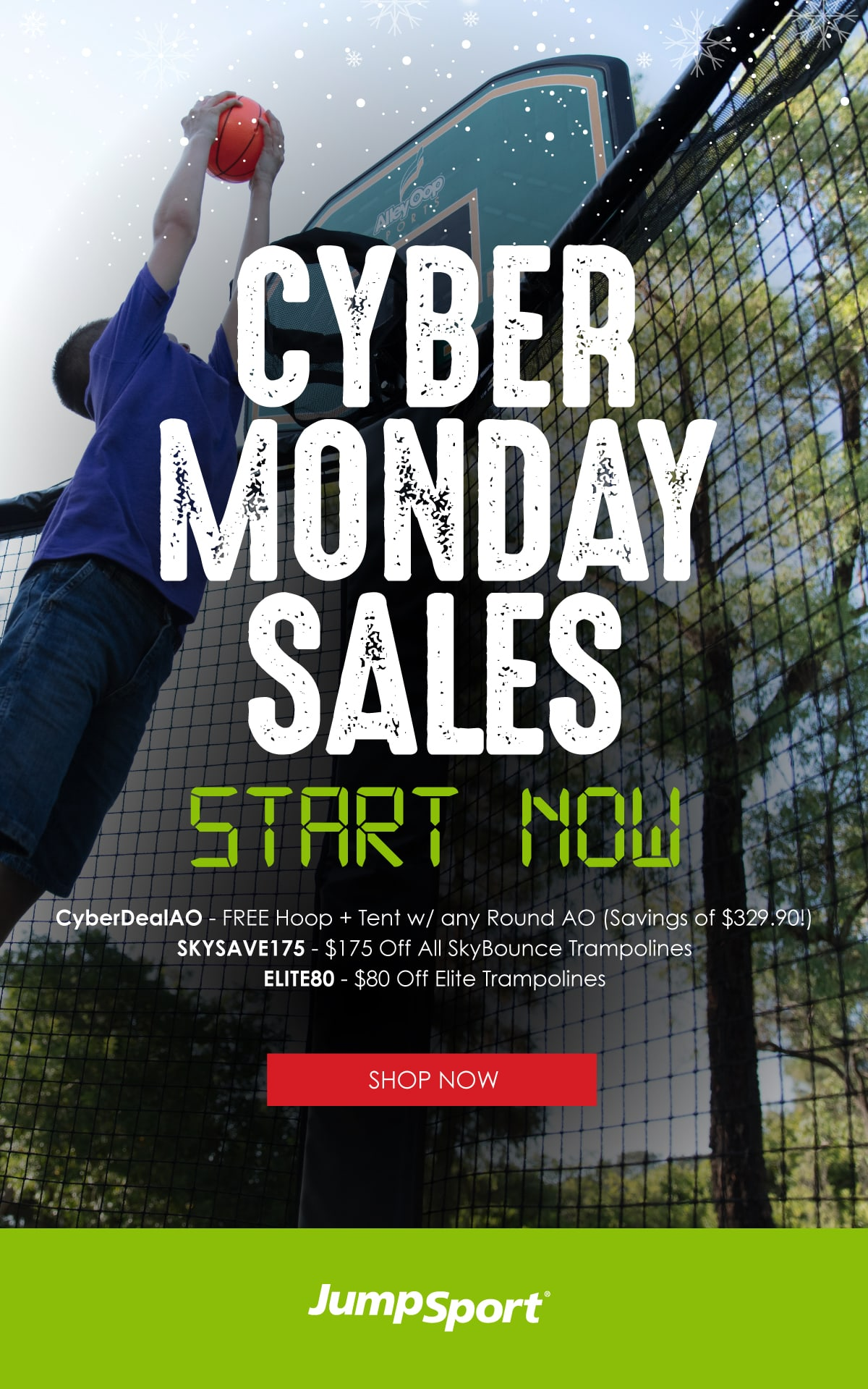 Cyber Monday sales start NOW! Shop Now.