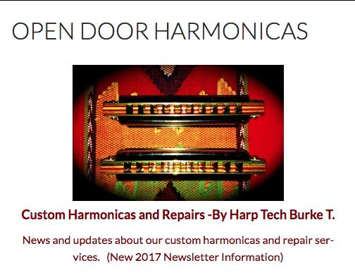 Open Door Harmonicas- Custom Harmonicas & Repairs: 2017 Newsletter