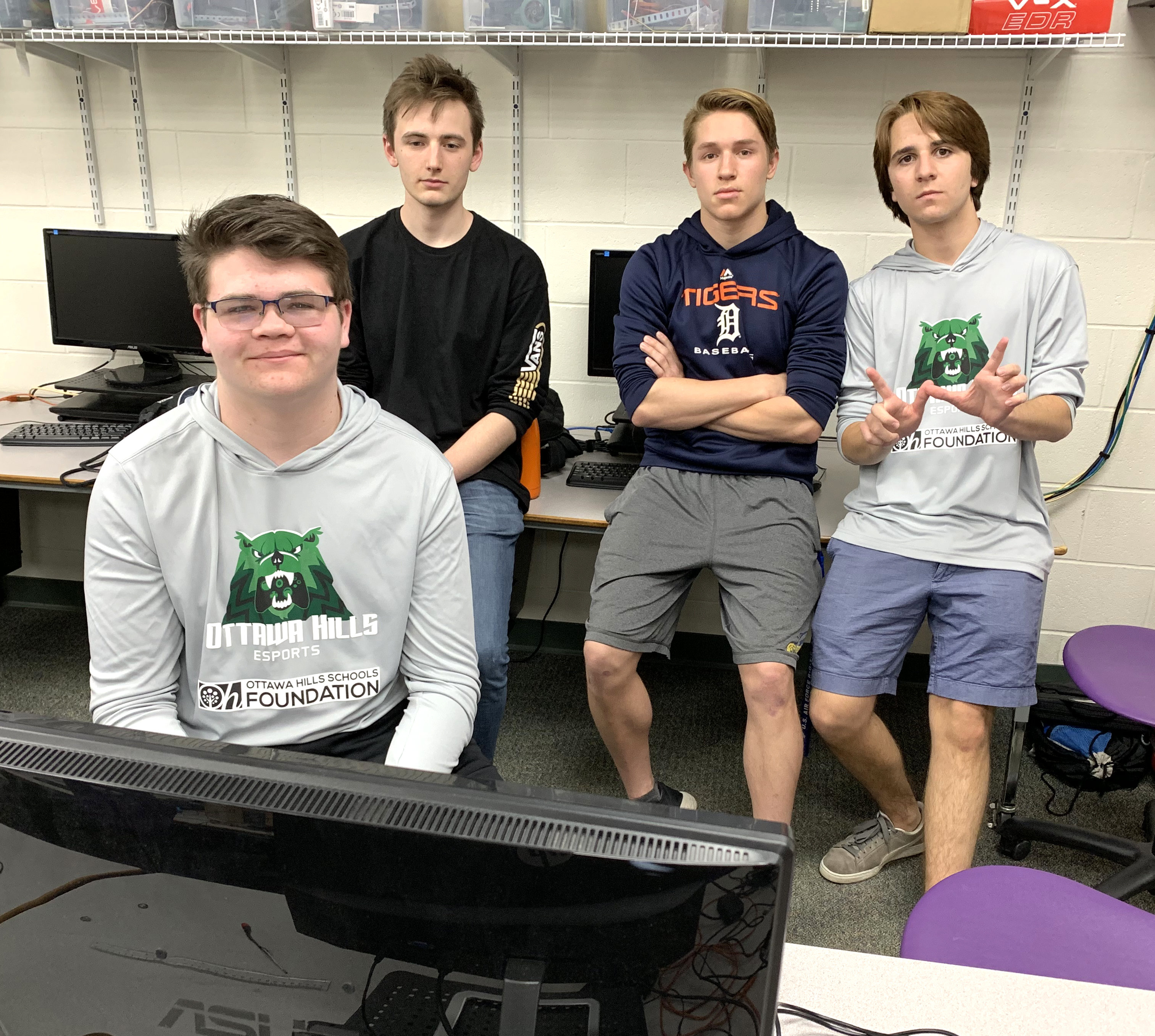 Team members of eSports Club