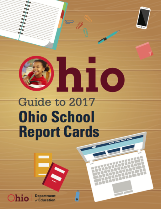Ohio School Reports Cards Report for 2017 front cover