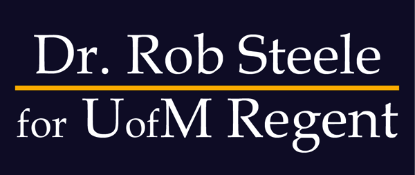 Rob Steele For UofM Regent