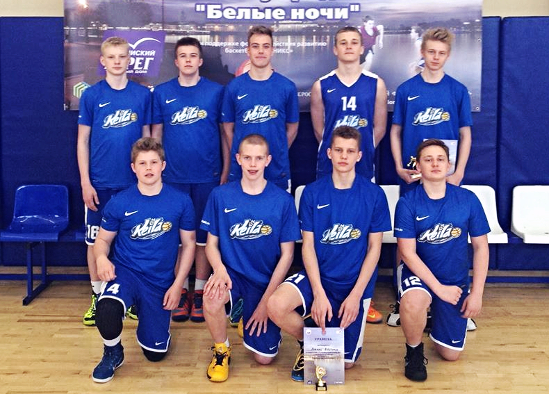 U15 poisid turniiril Venemaal
