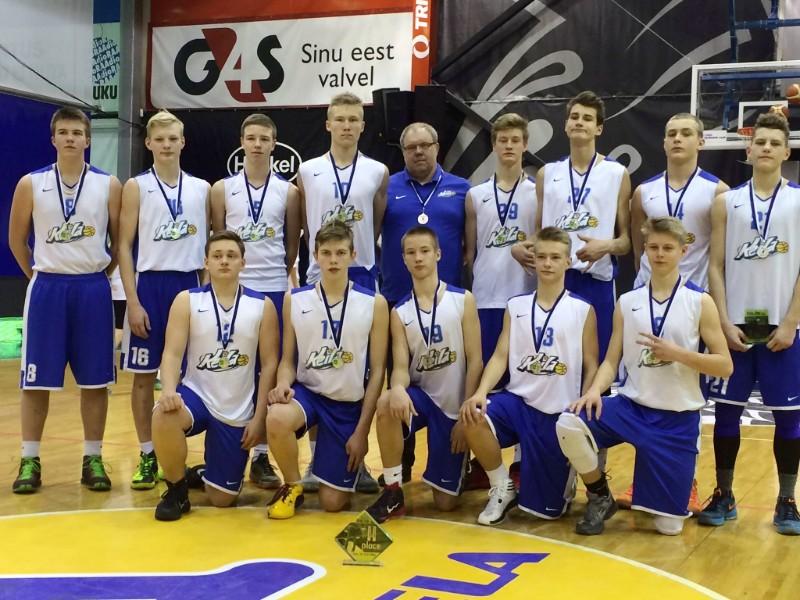 U16 meeskond võitis Euroopa noorteliiga etapil hõbeda