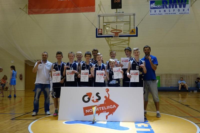 U14 poisid võitsid EMV pronksi