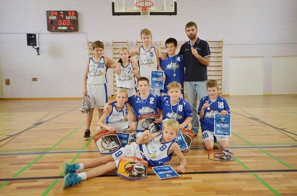 Basket Unites turniirilt 3. koht