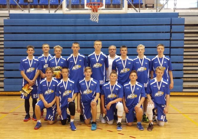 U18 meeskond võitis Spadematron Cup'il hõbeda