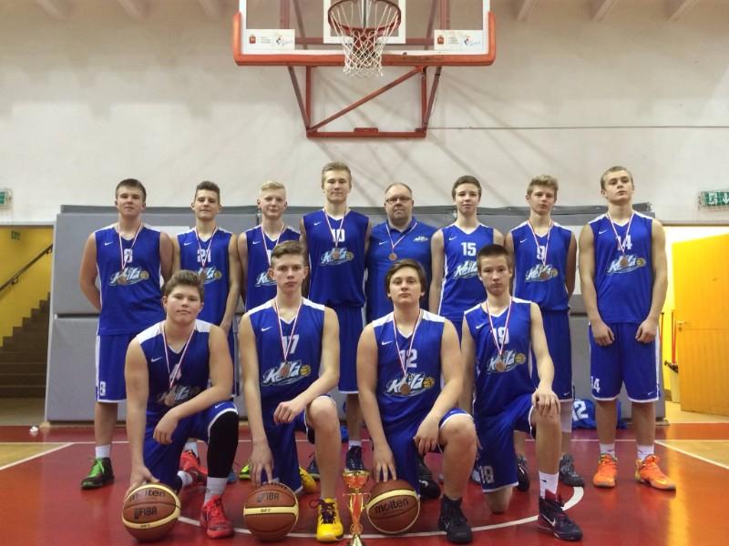 U16 meeskond tõi Poolast pronksi