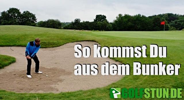 Bunker-Spiel beim Golf - Die Grundlagen