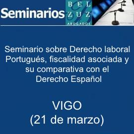 Seminario sobre Derecho laboral portugués (21 de marzo - Vigo)