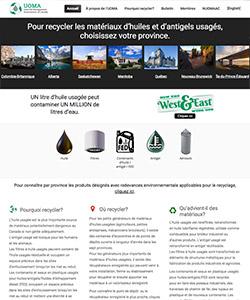 Le nouveau site Web national UOMA