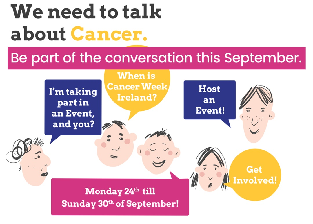Cancer Week: Be part of the conversation this September