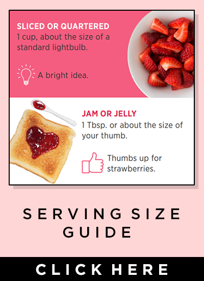 Serving Size Guide - Click here
