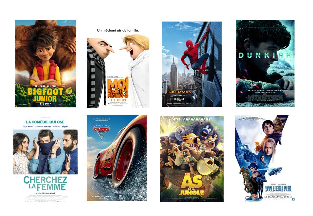 Programme Cinema Le foyer Habay du 2 au 10  Aout