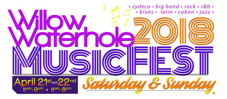 Willow Waterhole 2018 MusicFEST @ Willow Waterhole Greenway | Houston | Texas | United States