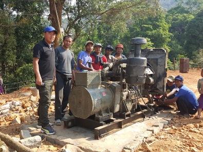 The hydro-electric generator