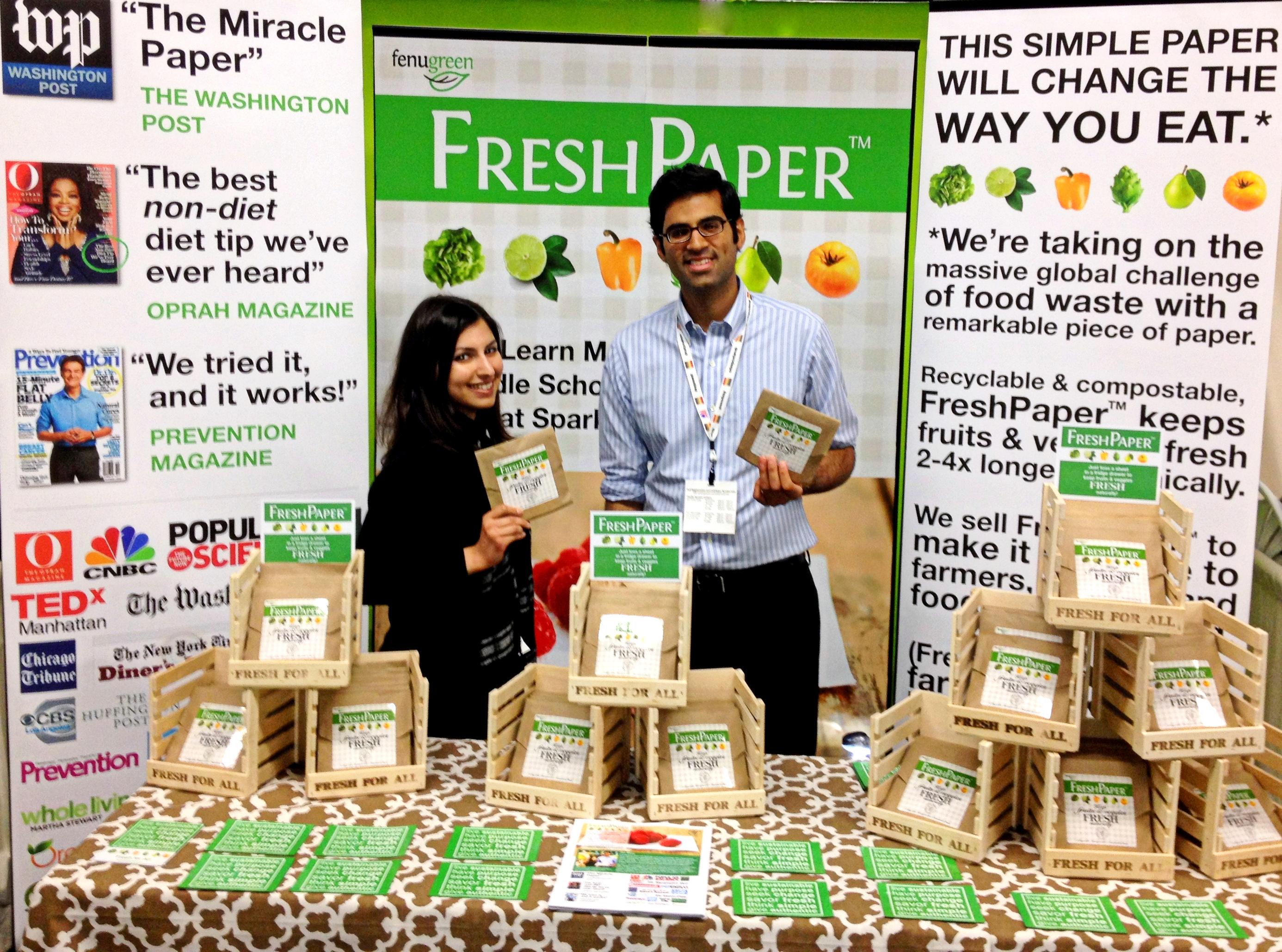 Fenugreen FreshPaper Founders