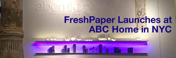 [PHOTO] FreshPaper Launch at ABC Home in NYC