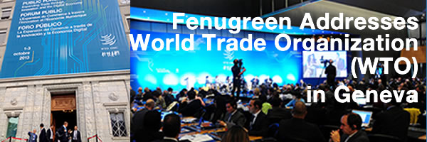 [PHOTO] FreshPaper Founders Address WTO in Geneva
