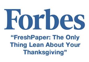 [PHOTO] FreshPaper Featured by Forbes