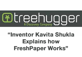 [PHOTO] FreshPaper Featured by Treehugger