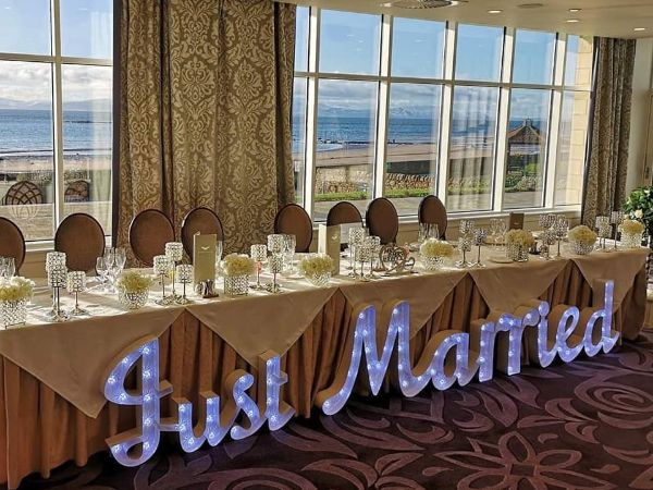 Just Married Lights