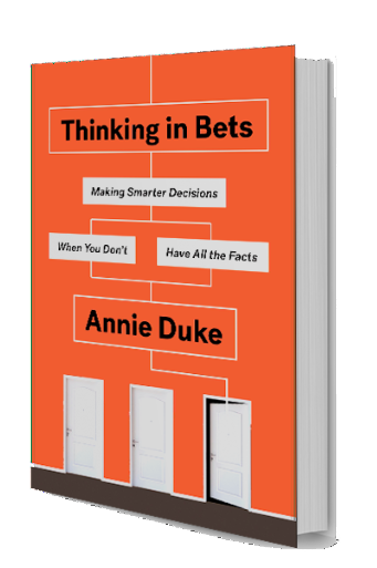 Thinking In Bets Hits Stores Tuesday - Annie's Newsletter, Feb 3rd, 2018