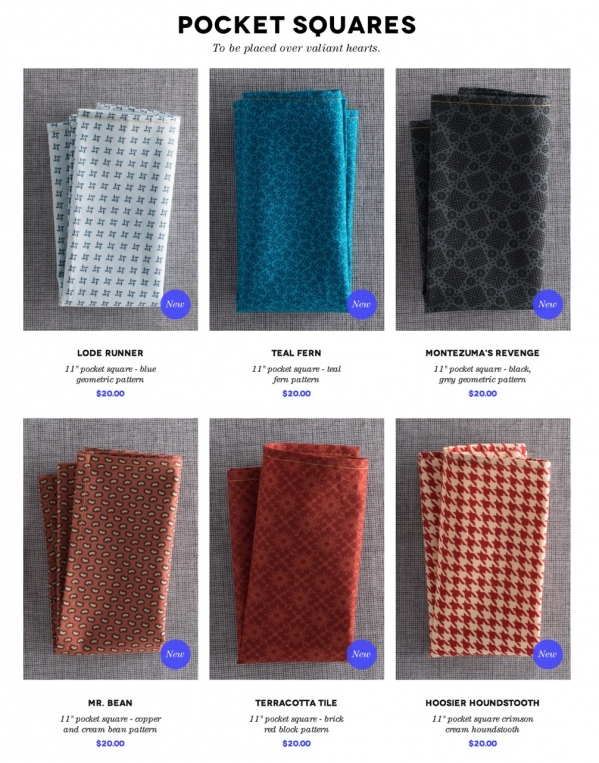 Hugh & Crye Pocket Squares