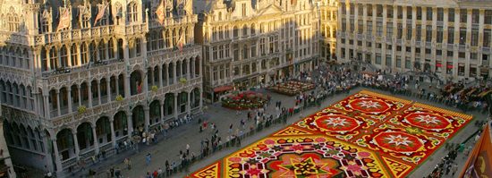 Brussels, Belgium, host of the 2014 Parliament of Religions