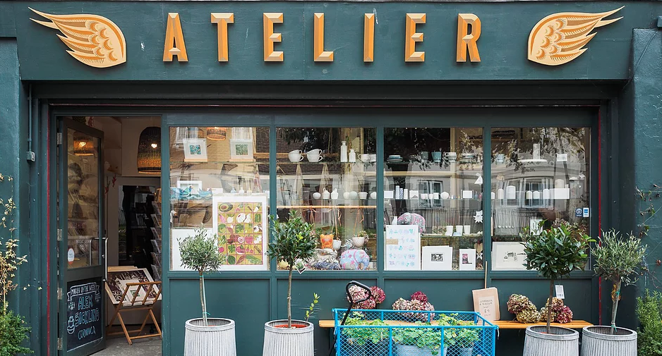 Atelier 51 Brighton shop front