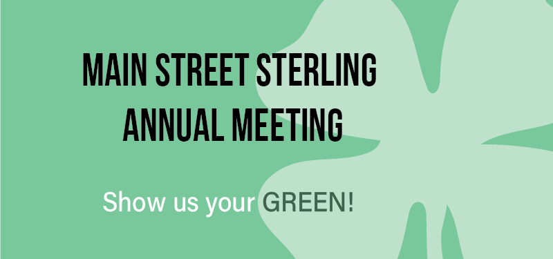 Annual Meeting – Show us your GREEN!