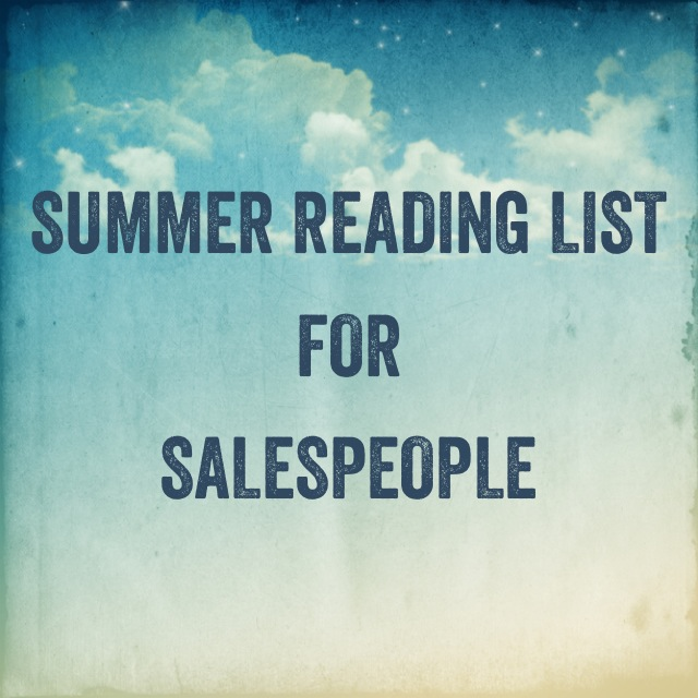 Summer Reading List for Salespeople