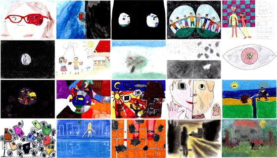 Les 20 dessins sélectionnés par notre jury.