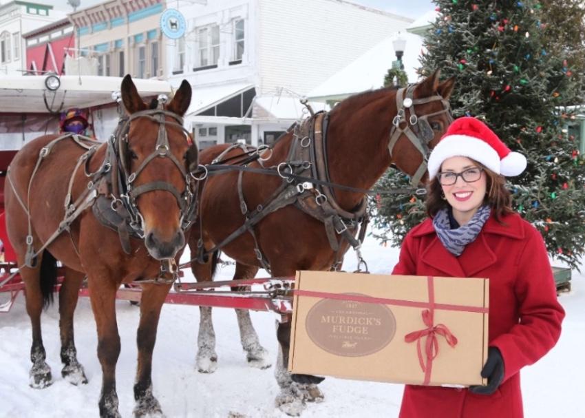 Original Murdick's Fudge Mackinac Horses And Holiday Gifts