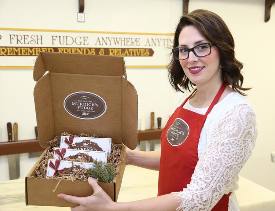 Original Murdick's Fudge Holiday Fudge Lovers Box