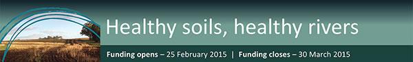 Healthy soils, healthy rivers