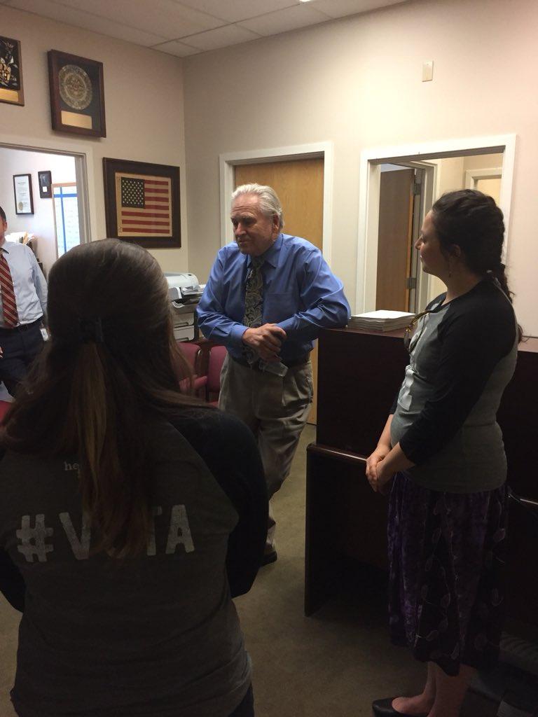 Meeting 4th distric senator Jim Nielsen
