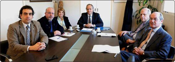 Reunión en el Ministerio de Justicia y Derechos Humanos de la Nación