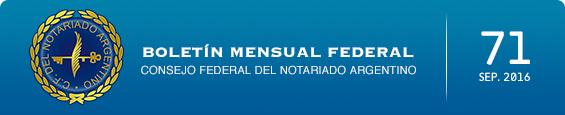 Boletín Mensual Federal - Num. 71 - Septiembre 2016