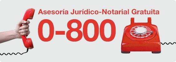 Banner Asesoría Jurídico-Notarial Gratuita