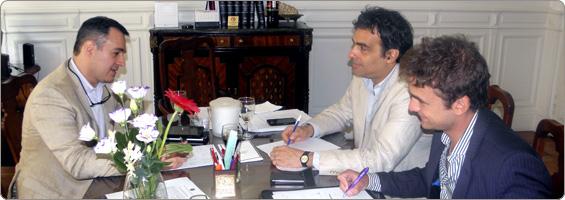 Reunión con el Delegado Nacional del Notariado Novel