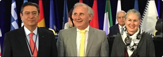 El Notario Argentino Jorge Alberto Mateo fue electo vicepresidente por América del Sur para la UINL