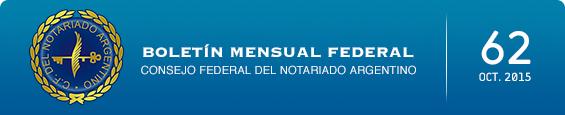 Boletín Mensual Federal - Num. 62 - Octubre 2015