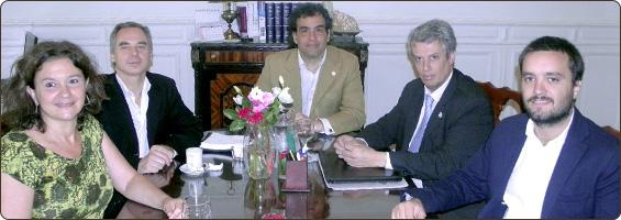 Reunión con funcionarios del Ministerio de Modernización